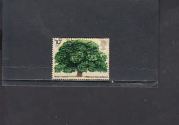 GRAN BRETAGNA  1974 - Unificato  720° - Albero - Flora - 1952-.... (Elisabetta II)