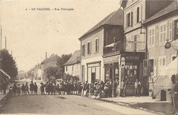 CPA Le Valdoie Rue Principale - Valdoie