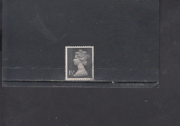 GRAN BRETAGNA  1971 - Unificato  607° -- Elisabetta - 1952-.... (Elisabetta II)