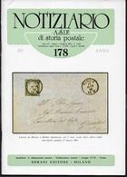 NOTIZIARIO A.S.I.F. DI STORIA POSTALE # 178 - FEBBRAIO 1979 - Magazines: Abonnements