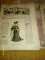 Journal De Famille La Mode Illustrée  No 49 ( Avec Planche De Patrons 50 Ct) De 45em Année Du 4 Decembre  1904 _6 Pages - Mode