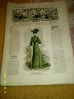Journal De Famille La Mode Illustrée  No 44 ( Avec Planche De Patrons 50 Ct) De 45em Année Du 30 Octobre  1904 _6 Pages - Mode