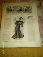 Journal De Famille La Mode Illustrée  No 38 ( Avec Planche De Patrons 50 Ct) De 45em Année Du 18 Septembre 1904 _6 Pages - Mode