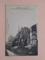 Mézières La Grande Rue Après Le Bombardement Des 31 Déc. 1870 Et 1 Jan 1871 ( A. Gelly ) Anno 19?? ( Voir Photo ) ! - Charleville