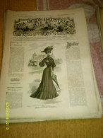 Journal De Famille La Mode Illustrée  No 36 ( Avec Planche De Patrons 50 Ct) De 45em Année Du 4 Septembre 1904 _6 Pages - Mode