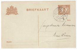 C40   BRIEFKAART 1918 DRIEBERGEN - Interi Postali