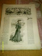 Journal De Famille La Mode Illustrée  No 33 ( Avec Planche De Patrons 50 Ct) De 45em Année Du 14 Aout 1904 _6 Pages - Mode