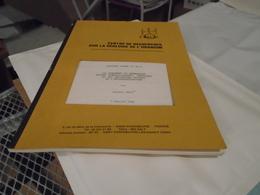 CENT. RECHERCH. SUR GEOLOGIE URANIUM GISEMENT BERNARDAN, Minéralogie, EPISYENITISATION, HAUTE-VIENNE, JOUAC, LEROY 1982 - Limousin