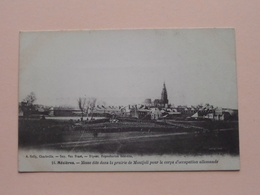 Mézières Messe Dite Dans La Prairie De Montjoli Pour Le Corps D'occupation  ( 14 - A. Gelly ) Anno 19?? ( Voir Photo ) ! - Charleville
