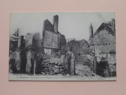 Mézières Le Coin De La Rue Bayard, Après Le Bombardement 1870/1871 ( 27 - A. Gelly / COUTY ) Anno 19?? ( Voir Photo ) ! - Charleville