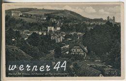 Wartha V.1944 Bahnhlinie Mit Noviziat Der Marienschwestern (12860) - Schlesien