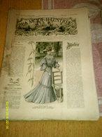 Journal De Famille La Mode Illustrée  No 31 ( Avec Planche De Patrons 50 Ct) De 45em Année Du 31 Juillet 1904 _6 Pages - Mode