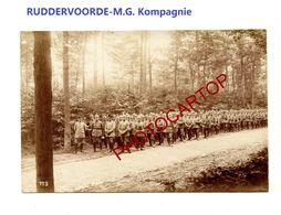 RUDDERVOORDE-M.G. Kompagnie-Cliche 773-Inf. Regt.182-GUERRE 14-18-1 WK-Militaria-Belgien- - Oostkamp