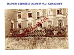 Env. BEERNEM-logement M.G. Kompagnie-Cliche 776-Inf. Regt.182-GUERRE 14-18-1 WK-Militaria-Belgien- - Oostkamp