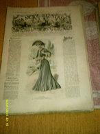 Journal De Famille La Mode Illustrée  No 20 ( Avec Planche De Patrons 50 Ct) De 45em Année Du 15 Mai 1904 _6 Pages - Mode