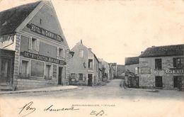 MAREIL SUR MAULDRE - La Place - Hôtel Du Chemin De Fer - France
