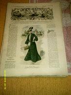 Journal De Famille La Mode Illustrée  No 18 ( Avec Planche De Patrons 50 Ct) De 45em Année Du 1er Mai 1904 _6 Pages - Mode