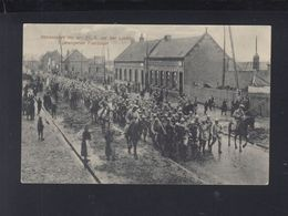Carte Postale 1916 Francais Captifs A Loretto - Guerra 1914-18
