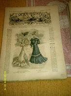 Journal De Famille La Mode Illustrée  No 14 ( Avec Planche De Patrons 50 Ct) De 45em Année Du 3 Avril 1904 _8 Pages - Mode