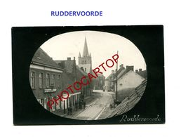 RUDDERVOORDE-Commerce-CARTE PHOTO Allemande-Inf. Regt.182-GUERRE 14-18-1 WK-Militaria-Belgien- - Oostkamp