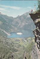 CARTOLINA - POSTCARD - NORVEGIA - FLYDALSJUVET . GEIRANGER - Norvegia