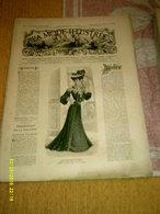 Journal De Famille La Mode Illustrée  No 5 ( Avec Planche De Patrons 50 Ct) De 45em Année Du 31 Janvier 1904 _6 Pages - Mode
