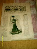 Journal De Famille La Mode Illustrée  No 1 ( Avec Planche De Patrons 50 Ct) De 45em Année Du 3 Janvier 1904 _6 Pages - Mode