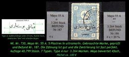 TURKEY , EARLY OTTOMAN SPECIALIZED FOR SPECIALIST, SEE...Mi. Nr. 730 - Mayo 55 A -R- - 1920-21 Anatolie