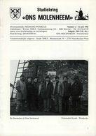 Thema: Molen/moulin - Tijdschrift ONS MOLENHEEM Juni 1982. Mechelen, Meerhout, Schaarbeek, Gistel E.a. - Tijdschriften