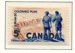 PIA - CANADA - 1961 : 10° Anniversario Del Piano Di Colombo - (Yv 321) - 1952-.... Reinado De Elizabeth II