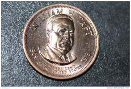 "Très Beau Jeton Président Des Etats-Unis ""William H. Taft 1909-1903"" President Of United States Of America Token - Etats-Unis"