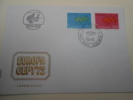 EUROPA CEPT FDC Collection: 1972. Jugoslavia Nice Set - 1972