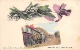 60 - OISE / Liancourt - 603167 - Amitiés - Très Belle Carte Fantaisie - Liancourt