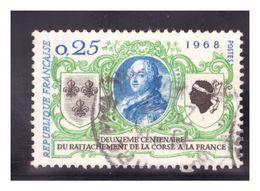 France 1968 - Le 200e Anniversaire De L'Union De La Corse Et De La France - France