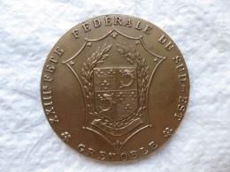 Médaille 23eme Fete Fédérale De La Fédération Du Sud-Est. GRENOBLE 1914 - France