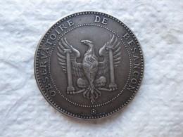 Médaille Observatoire De Besancon, Concours Chronometrique, Par H. Dubois. - France