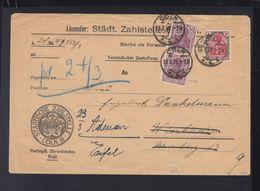 Dt. Reich Brief 1922 Städtische Zahlstelle Köln - Briefe U. Dokumente