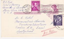 Postkarte In Die Schweiz (br2826) - United States