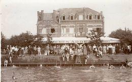 Schoten Schooten  Café Hotel Westende  Fotokaart Verstuurd 1934  Bieren Ardea  Uitg Escamator - Schoten