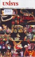 Télécarte Japon / 110-169876 - DISNEY DISNEYLAND - Unisys (5525) Japan Phonecard Telefonkarte - Disney