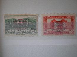 SYRIE  N°276/277 CHARNIERE - Syria (1919-1945)