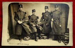 Cpa CARTE PHOTO 1906 MILITARIA AVANT GUERRE MILTAIRES 26e REGIMENT INFANTERIE NANCY 54 MEURTHE ET MOSELLE JOSSE MACAGNO - Régiments