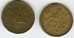 République Tchéque Czech Republic 20 Korun 1993 C KM 5 - Tchéquie