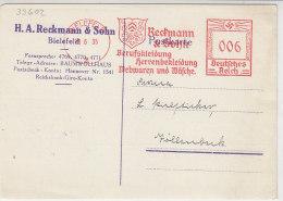 Freistempel Von Beckmann&Sohn Aus BIELEFELD 28.6.35 - Deutschland