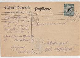 Karte Des Eichamtes Aus Bayreuth 26.10.25 - Dienstzegels