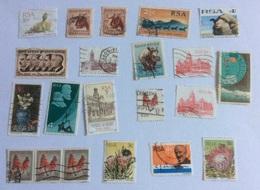 Lot De 29  Timbres Oblitérés D' Afrique Du Sud (doublons) - Afrique Du Sud (1961-...)
