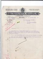 Un   Courrier      :  Ets   Rador   Manufacture De Cycles Et Motos - 1900 – 1949