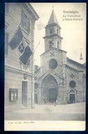 Cpa Italie Ventimiglia La Cattedrale E Palazzo Municipale SEP17-92 - Imperia
