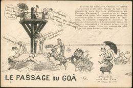 Carte Humoristique -  Le Passage Du Goâ - France