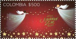 Colombia 2016 ** Navidad. Bloque De 4 Sellos. See Desc. - Colombie